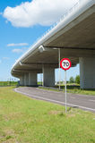 Highway viaduct Royalty Free Stock Photos