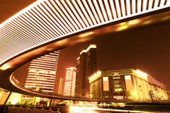 Highway viaduct in Shanghai Royalty Free Stock Photography