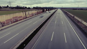 Highway, view from above Royalty Free Stock Photography