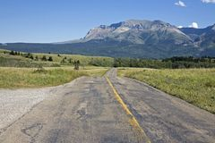 Highway view Stock Image