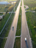 Highway in Vilnius Stock Photography