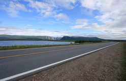 Highway at Western Brook Royalty Free Stock Image