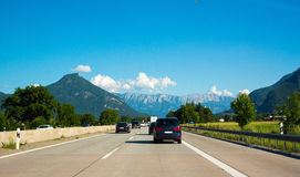 Free Highway With Mountain View Stock Photo - 91581420
