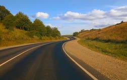 Highway wood sky Stock Photo