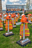 Highway workers fatality memorials Stock Photography