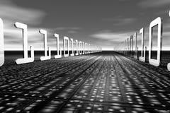 highway3信息 免版税库存照片