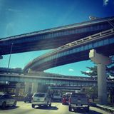 highways Fotografia Stock