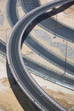 Highways from above Stock Photography