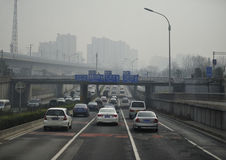 Highways of Beijing Stock Photography