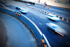 Highways and cars Royalty Free Stock Images