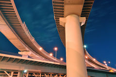 Highways structure royalty free stock image