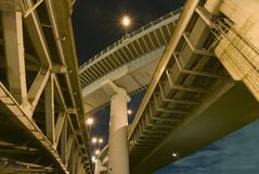 Highways structure stock photography