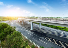 Highways and viaducts Stock Image
