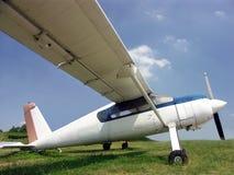 highwing самолет-моноплан стоковые фото