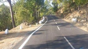 Highyway Uttarakhand印度 免版税库存照片