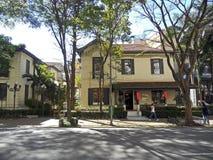 Higienópolis Avenue Royalty Free Stock Image