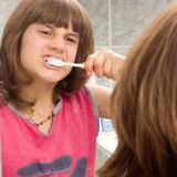 higiena jamy ustnej Fotografia Stock