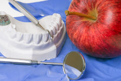 higiena jamy ustnej Obrazy Royalty Free