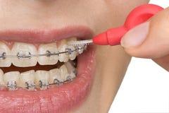 higiena oralna Fotografia Royalty Free