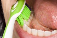 higiena oralna Zdjęcia Stock