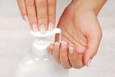 Higiene da pele Imagens de Stock