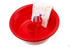 Higiene de la mañana Imagen de archivo libre de regalías