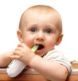 Higiene del bebé Imágenes de archivo libres de regalías