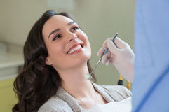 Higiene dental foto de archivo