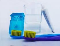 Higiene dental para a saúde oral excelente fotografia de stock royalty free