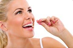 Higiene oral Foto de archivo libre de regalías
