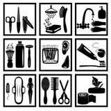 Higiene pessoal ilustração do vetor