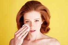 higieny ogłoszenia towarzyskiego skincare Obraz Royalty Free