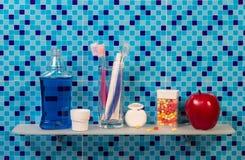 higieny ogłoszenia towarzyskiego produkty Obrazy Royalty Free