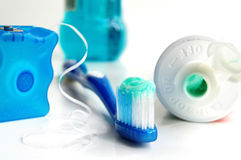 higieny ustnej Obrazy Stock
