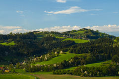 Higland landscape of Beskydy Mountains. (Czech Republic Stock Images