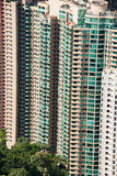Hign density residential building. In Hong Kong Stock Photography