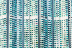 Hign density residential building. In Hong Kong stock images