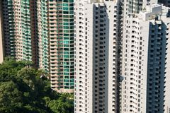 Hign density residential building. In Hong Kong Stock Photos