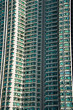 The hign density residential building in hong kong Stock Image