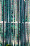 The hign density residential building in hong kong Stock Photos