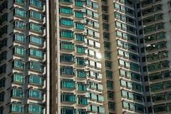 Hign density residential building in Hong Kong Stock Photography