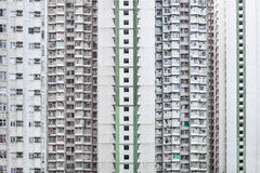 Hign density residential building in Hong Kong Royalty Free Stock Photo