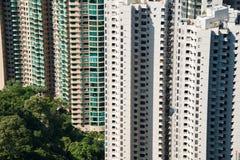 Hign-Dichte-Wohngebäude Stockfotos