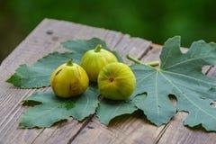 Higo amarillo maduro Foto de archivo libre de regalías