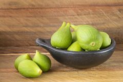 Higo delicious fruit - Ficus carica. The fig tree, known in some cases fig tree or brevera royalty free stock image