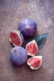 Higos orgánicos frescos Foto de archivo