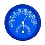 Higrómetro del termómetro foto de archivo libre de regalías
