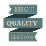 Higt quality vintage styled ribbon Royalty Free Stock Image