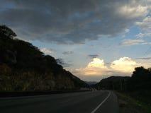 Higyway väg arkivfoton