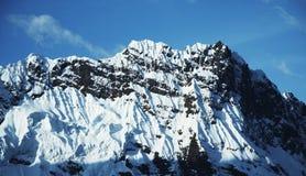 Hihg Cordillerasberg Arkivbild